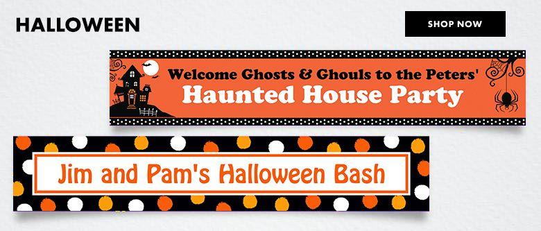 Custom Halloween Banners Shop Now