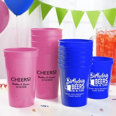 Personalized Milestone Cups
