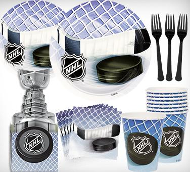 Hockey & NHL Teams Party Supplies