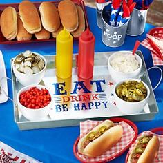 4th of July Serveware
