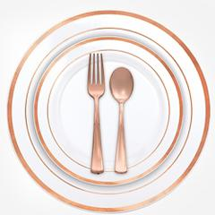 Rose Gold Premium Tableware