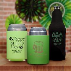 Personalized St. Patrick's Day Coozies