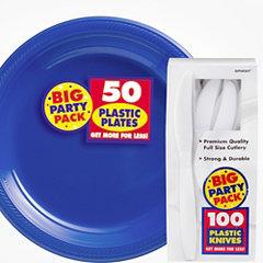 Tableware Big Party Packs